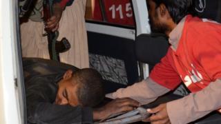 Heridos en el ataque en Quetta
