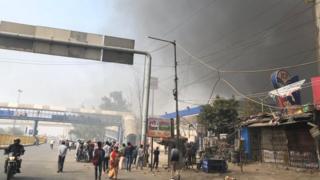 दिल्ली में हिंसा