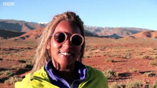 Хафіда - перша дипломована провідниця в горах Марокко