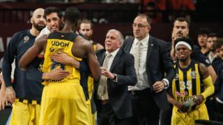 Fenerbahçe Udoh seviniyor