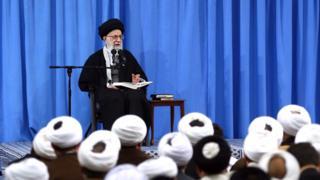 رهبر ایران در درس خارج فقه