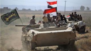 القوات العراقية تمكنت من تحرير معظم المناطق التي سيطر عليها تنظيم الدولة