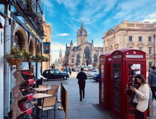 Vibrant Edinburgh