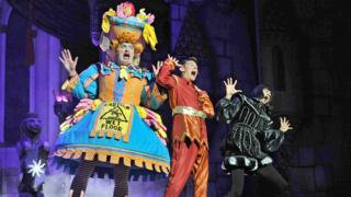 Peter Pan pantomime stars say it is 'hardest job in show business'