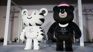 Mascots of the 2018 Olympic and Paralympic Winter Games