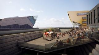 Artist's impression of Stage @The Dock