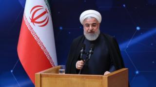 El presidente de Irán, Hassan Rounani