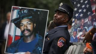 Hommage au victimes de l'attentat terroriste du 11 septembre