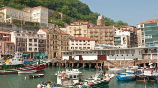 San Sebastián, no País Basco