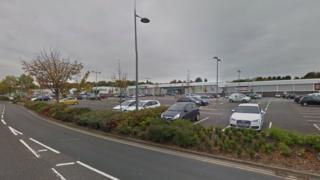 Part of Wolstanton Retail Park