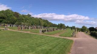 Highland Council cemetery