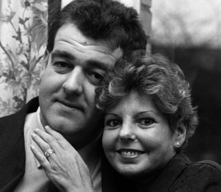 Peter Thompson (l) and Davina Thompson