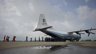 Pesawat militer Myanmar