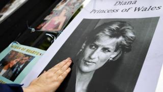 Tributes to Princess Diana