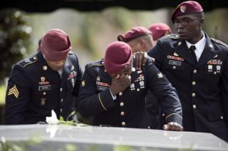 The funeral for US Army Sgt La David Johnson, who was killed in Niger