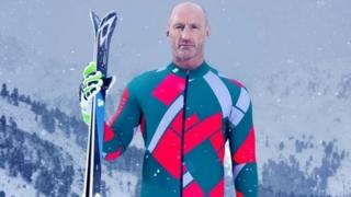 Gareth Thomas in The Jump