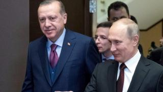 Cumhurbaşkanı Erdoğan ile Rusya Devlet Başkanı Putin, en son 13 Kasım'da Soçi'de bir araya gelmişti