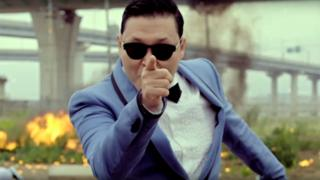 Still image from Gangnam Style