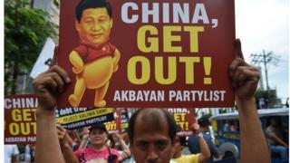 马尼拉民众有着一定的反中情绪。