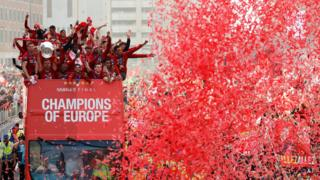 Liverpool's victory parade