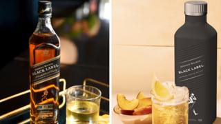 Johnnie Walker bottles