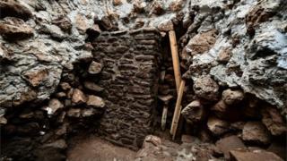 O terremoto do México mostrou estruturas escondidas dentro da pirâmide