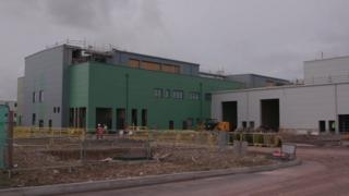Building works at Porton Down