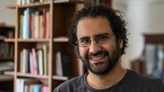 Egyptian activist Alaa Abdel Fattah