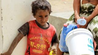 اليمن يعاني من كارثة إنسانية بحسب الأمم المتحدة