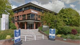 Wickes head office