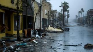 Storm damage in Panama City, Florida. Photo: 10 October 2018
