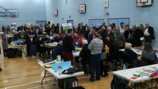 Election count in Tandridge