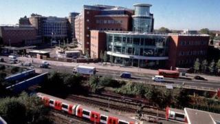 former BBC Television Centre building