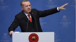 ښاغلي اردوغان بیت المقدس د خپل هېواد لپاره 'سره کرښه' بللې