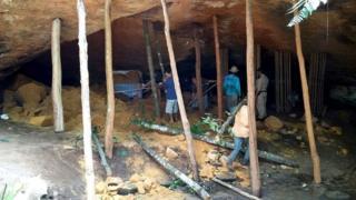 Grotto collapse in Santa Maria, Tocantins, Brazil