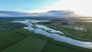 Flooded River Eden (Image: Neil Entwistle)