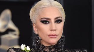 La star de la pop Lady Gaga, ici à la cérémonie des Grammy Awards, le 28 janvier dernier à New York.