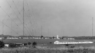 Antenna field at Flowerdown, near Winchester.