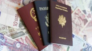 Паспорта разных государств