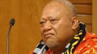 Joseph Auga Matamata at an earlier court hearing