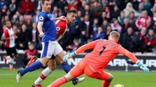 Lokacin gumurzun Everton da Southampton