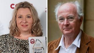 Gail Honeyman and Philip Pullman