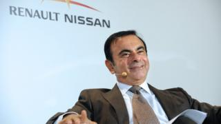 Renault-Nissan chairman Carlos Ghosn