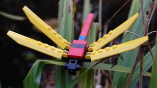 Lego dragonfly