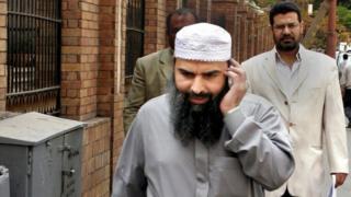 File photo of Egyptian imam Osama Hassan Mustafa Nasr, also known as Abu Omar