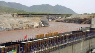 """L'Ethiopie affirme que 60% de son """"barrage de la Renaissance"""" sont déjà achevés."""