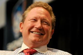 Andrew Forrest, the Australian iron ore magnate and philanthropist