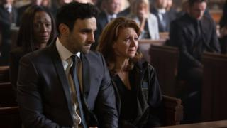 Davood Ghadami and Bonnie Langford