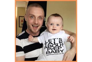 Greg Owen with his nephew