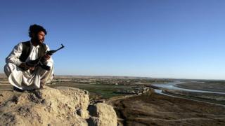 Афганский полицейский в Гельменде